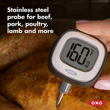 Load image into Gallery viewer, OXO Good Grips Chef's Precision Digital Instant Read Thermometer 11168300 Black
