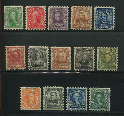Scott 300S-313S Specimen Type E Complete Mint Set of 14 Stamp (Stock 313 Spc 1)