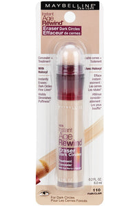 Maybelline Instant Age Rewind Eraser Dark Circles Treatment Multi-Use Concealer, Fair, 0.2 Fl Oz (Pack of 2)