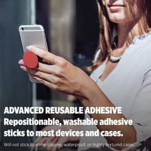 Load image into Gallery viewer, PopSockets: Collapsible Grip & Stand for Phones and Tablets - Red