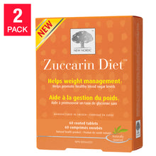 Load image into Gallery viewer, New Nordic Zuccarin Diet, 2-pack 60 Tablets