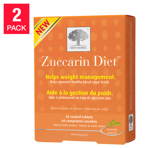 New Nordic Zuccarin Diet, 2-pack 60 Tablets