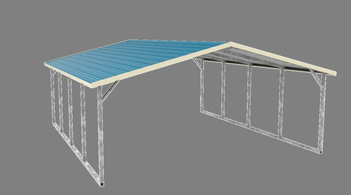 12x21x6' Carport Cover  INSTALL. IS INCLUDED!  Serving Nation-wide (Prices vary)
