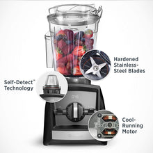 Load image into Gallery viewer, Vitamix A2300 Ascent Series Smart Blender, Professional-Grade, 64 oz. Low-Profile Container, Slate