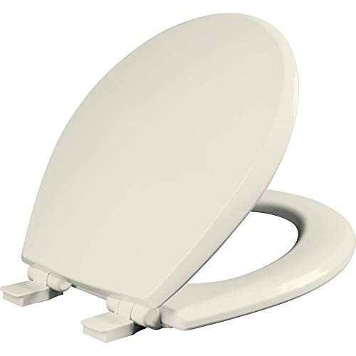 Mayfair 847SLOW 346 Kendall Slow-Close, Removable Enameled Wood Toilet Seat...