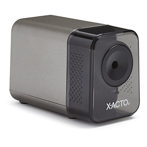 X-ACTO XLR Electric Pencil Sharpener 1800 3 L x 5 W x 4 H in Gray Standard