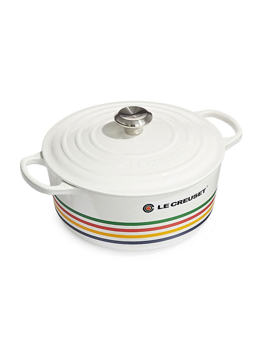 HBC Stripes MULTI STRIPE 5.3 L HBC x Le Creuset Multistripe Round French Oven
