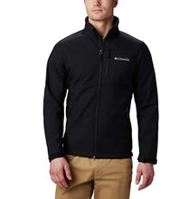 Load image into Gallery viewer, Columbia Men's Ascender Softshell Jacket, Water & Wind Resistant, Black, Large 155653