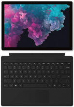 Load image into Gallery viewer, Microsoft Surface Pro 6 (Intel Core i5, 8GB RAM, 128GB) - Microsoft Surface Pro Signature Type Cover- Black