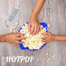 Load image into Gallery viewer, The Original Hotpop Microwave Popcorn Popper, Silicone Popcorn Maker, Collapsible Bowl Bpa Free and Dishwasher Safe - 12 Colors Available (Blue) SYNCHKG118887