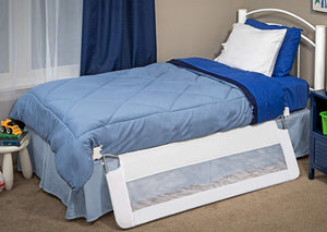 Regalo Swing Down 54-Inch Extra Long Bed Rail Guard, with Reinforced Anchor Safety System