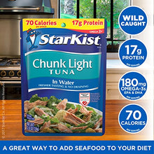 Load image into Gallery viewer, StarKist Chunk Light Tuna in Water – 2.6 Ounce Pouch (Pack of 4) 503750