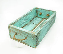 Load image into Gallery viewer, Mass Brothers Woodcraft Farm House Crate (sage) Medium