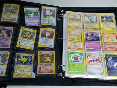 Pokemon Collection 380 Card Lot Holo Rare 1st Ed Ridgeline Swirl Vtg CHARIZARD