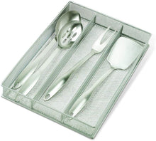 Load image into Gallery viewer, Copco 2555-7872 Large Mesh 3-Part In-Drawer Utensil Organizer