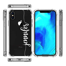 Load image into Gallery viewer, marblefyofficial MARBLEFY Personalized Handwriting Name Shockproof Protective Case for iPhone 11/11 Pro/Xs/Xr/X/8/7/6/Plus/Max protective custom name case Crystal Clear, Transparent