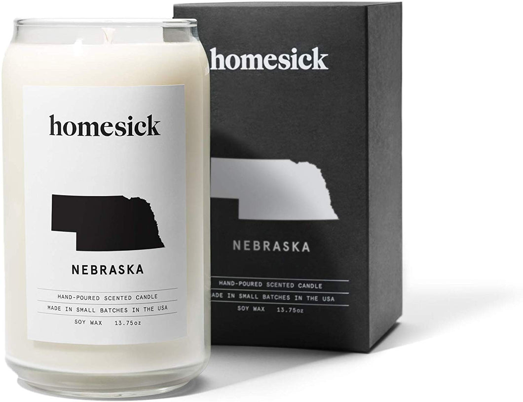 Homesick Scented Candle, Nebraska