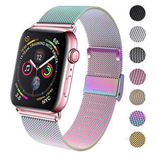 Load image into Gallery viewer, GBPOOT Compatible for Apple Watch Band 38mm 40mm 42mm 44mm, Wristband Loop Replacement Band for Iwatch Series 4,Series 3,Series 2,Series 1,Colorful,38mm/40mm