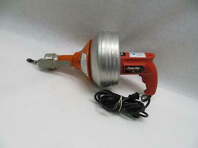 Power Vee Handylectric Hand Held Drill Style Drain Cleaner