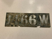 Load image into Gallery viewer, 1905 to 1910 Wisconsin license Plate. Used Cond Rare No Dash Barn Find