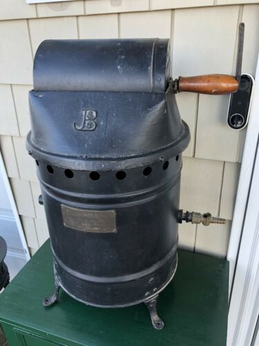Antique Coffee Roaster Jabez Burns And Sons Circa 1898