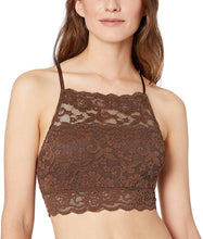 Load image into Gallery viewer,  Brand - Mae Women's High-Neck Lace Bralette (for A-C cups)