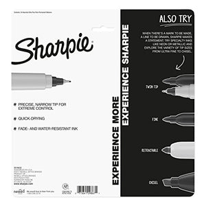 Sharpie 1949558 Color Burst Permanent Markers, Ultra Fine Point, Assorted Colors, 24-Count Multicolor