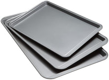 Load image into Gallery viewer, Good Cook Set Of 3 Non-Stick Cookie Sheet 04322 Multicolor