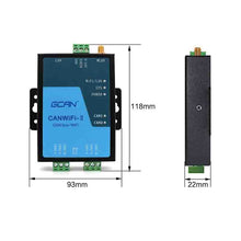 Load image into Gallery viewer, GCAN-211 CANbus to WIFI CAN to WLAN converter adapter gateway for CAN bus wireless relay CAN to wifi power repeater converter