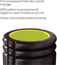 Load image into Gallery viewer, TriggerPoint GRID Foam Roller with Free Online Instructional Videos, Original (13-Inch)