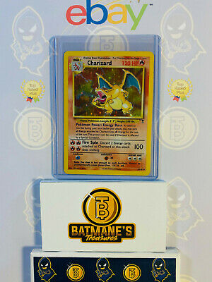Charizard 3/110 HP Played Legendary Collections Holofoil Rare Holo Pokemon Card