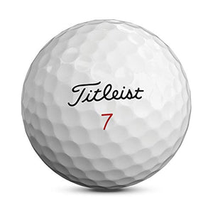 Titleist Pro V1x Golf Balls, White, High Play Numbers (5-8), One Dozen T2046s-H
