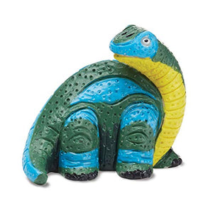 Melissa & Doug Decorate Your Own Dinosaur Figurines (All-Inclusive Art Set, Ready to Decorate, 6 Pots of Paint and Paintbrushes, Great Gift for Girls and Boys - Best for 8, 9, 10 Year Olds and Up) 8868 1 EA Multi