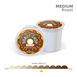 The Original Donut Shop Decaf Keurig Single-Serve K-Cup Pods, Medium Roast Coffee, 72 Count 5000053700