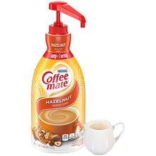 Load image into Gallery viewer, Nestle Coffee mate Coffee Creamer, Hazelnut, Liquid Pump Bottle, 50.7 Ounces NES31831 50.7 Fl Oz (Pack of 1)