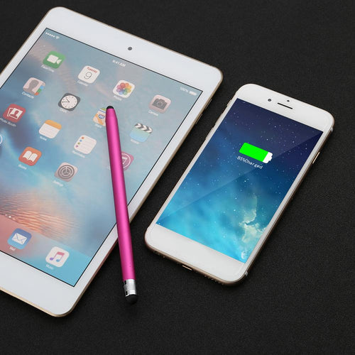 10 Colors Universal Round Dual Tips Capacitive Stylus Touch Screen Drawing Pen for Phone iPad Smart Phone Tablet PC Computer