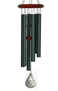 Memorial Wind Chimes COMFORT 17 inch Gift Package Wind Chimes in Memory of Loved One Listen to the Wind Memorial Garden