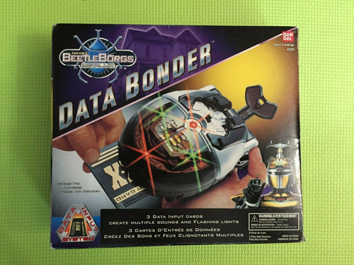 Saban's Beetle Borgs Metallix Data Bonder 1997 with box rare find