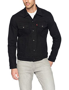 Levi's Men's Original Trucker Jacket, Lamar (Black), XXL 72334-0223 XX-Large