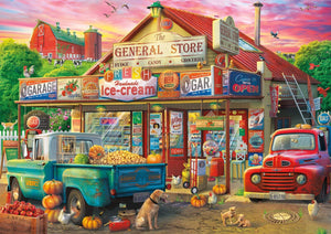 Buffalo Games - Americana Collection - Country Store - 500 Piece Jigsaw Puzzle