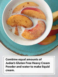 Judee's Gluten Free Judee's Heavy Cream Powder(11 oz): GMO and Preservative Free: Produced in the USA: Keto Friendly, Add Healthy Fat to Coffee, Freshness Locked in Package 11 Ounce