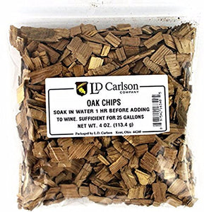 Home Brew Ohio American Oak Chips 4 oz. 6340A Brown