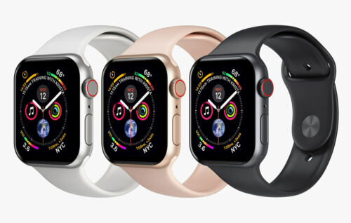 Apple Watch Series 4 ⌚ Rose Gold Space Gray Silver ✨ Smart Watch for Women & Men