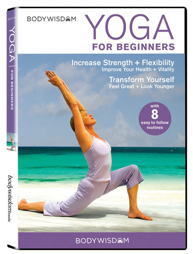 Yoga for Beginners DVD: 8 Yoga Video Routines for Beginners. Includes Gentle...