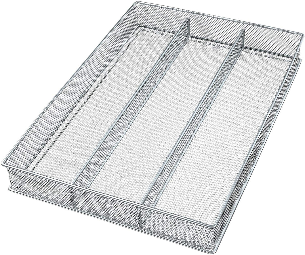 Copco 2555-7872 Large Mesh 3-Part In-Drawer Utensil Organizer