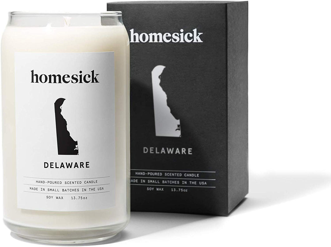 Homesick Scented Candle, Delaware