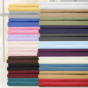 Sweet Home Collection 6 Piece 1500 Thread Count Brushed Microfiber Deep Pocket Sheet Set - 2 EXTRA PILLOW CASES, VALUE, RV Short Queen, Sage