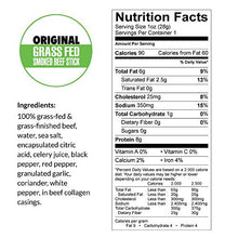 Load image into Gallery viewer, Original, Sogo Snacks, No Sugar, 100% Grass-fed & Grass-finished, Non-GMO Beef Sticks. No Added Nitrates, Gluten, Soy, MSG, Dairy, Nuts. Keto, Whole, Paleo Friendly (Original, 1-oz, 12 Count)