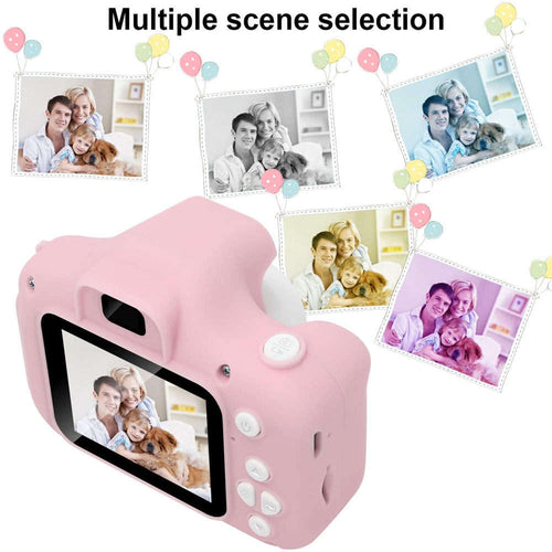 Children Mini Camera  Pink Kids Digital HD Camera 2