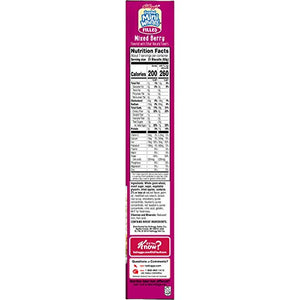 Kellogg's Frosted Mini-Wheats Filled, Breakfast Cereal, Mixed Berry, 16.5oz Box